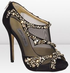 Jimmy Choo Net and Crystals