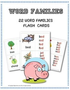 most common word families pdf