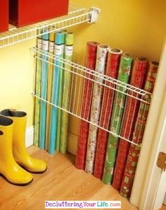 Small Craft Room? This is a BRILLIANT Craft Room Closet Organization Hack! - Craft Room Organizing Ideas #gettingorganized #goals #organizationideasforthehome #lifehacks #momhacks