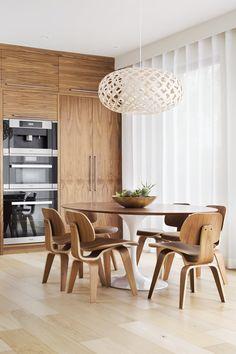Bdhm Design  Kitchen  Breakfast Nook  Modern White Framed Art Delectable Modern Kitchen Nook Design Ideas