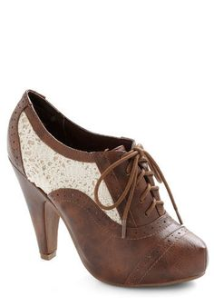 clee08's save of Whirlwind Traveler Bootie | Mod Retro Vintage Boots | ModCloth.com on Wanelo