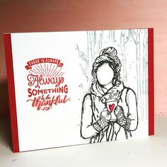 thankful by Becca Cruger for  Coffee Loving Cardmakers