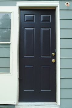 The Remodeled Life: Painting the Exterior Doors