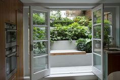 Modern, urban with lush planting by Outdoor Space Designed for Living, via Flickr