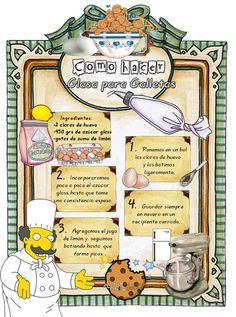 Tartas, Galletas Decoradas y Cupcakes: Paso a Paso Cupcake Cookies, Royal Icing Cookies, Cupcakes, Merengue, Cookie Recipes, Dessert Recipes, Desserts, Biscuits, Cakes And More