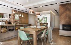 Wystrój wnętrz - Jadalnia - styl Skandynawski. Projekty i aranżacje najlepszych designerów. Prawdziwe inspiracje dla każdego, dla kogo liczy się dobry gust i nieprzeciętne rozwiązania w nowoczesnym projektowaniu i dekorowaniu wnętrz. Obejrzyj zdjęcia!