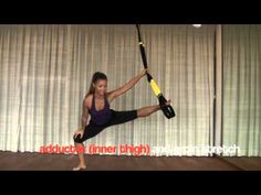 A complete dynamic cross-training sequence designed to work small and large muscle groups following integrated organic patterns of movement. Using TRX, Roxanne demonstrates new ways to target hip, foundational and core stability, balance and strength while maintaining deep breath focus.