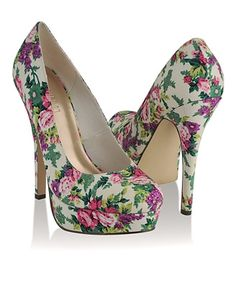 Floral Stilettos - StyleSays