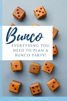 Planning a for Bunco/Bunko party ideas? Here's how to plan a Bunco party. Bunco Rules, Bunco Game, Bunco Party, Party Fun, How To Play Bunco, Bunco Score Sheets, Homemade Macaroni Cheese, Bunco Gifts, Prize Ideas