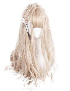 Amazon.co.jp: (インマン) INMAN ウィッグ フルウィッグ セミロング ゆるふわ カール 巻き髪 原宿 ロリータ 高品質 耐熱 グラデーション ブラウン (セミロング): 服&ファッション小物 Kawaii Hairstyles, Pretty Hairstyles, Wig Hairstyles, Manga Hair, Anime Hair, Cosplay Hair, Cosplay Wigs, Kawaii Wigs, Lolita Hair