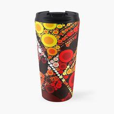 Travel Mug, Abstract Art, Digital Art, My Arts, Art Prints, Mugs, Lifestyle, Printed, Awesome