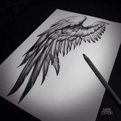 Tattoo drawings, wing tattoo designs ve sketch tattoo design. Wing Tattoo Designs, Sketch Tattoo Design, Tattoo Sketches, Tattoo Drawings, Drawing Sketches, Tatoo Art, Body Art Tattoos, Sleeve Tattoos, Trendy Tattoos