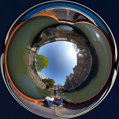 Punt Circle Up   Looking up from inside a Scudamore's punt. …   Flickr - Photo Sharing!