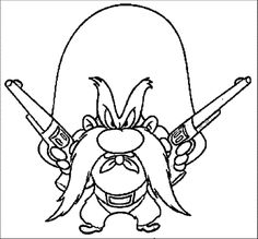 Coloring pages wind chimes ~ Yosemite Sam Coloring Pages For | year-round products