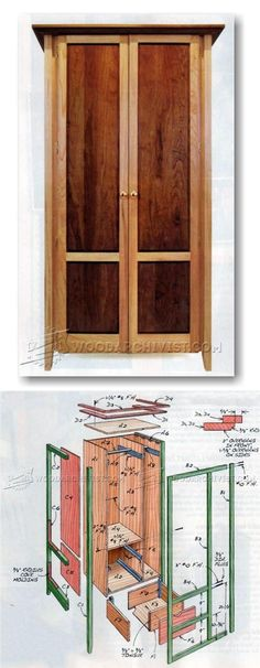 Build Armoire - Furniture Plans and Projects   WoodArchivist.com