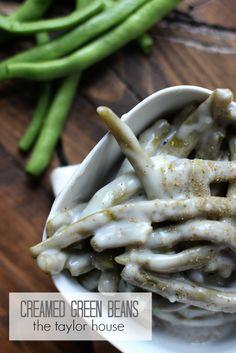 Creamed Green Beans.