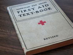 Items similar to Vintage American Red Cross First Aid Textbook on Etsy American Red Cross Volunteer, Red Cross First Aid, Death On The Nile, Nurse Love, Teaching Skills, Health Care Reform, Writing Prompts, Textbook, A Team