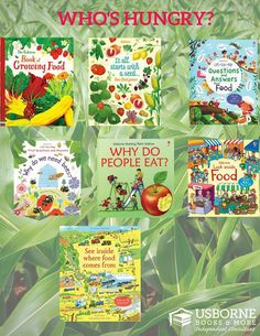 Do you have kids who love to cook? Do you garden together? I have a perfect selection of food/garden nonfiction books for your budding foodie!