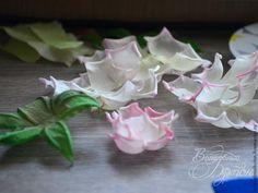 Роза из шелка. Мастер-класс для начинающих - Ярмарка Мастеров - ручная работа, handmade