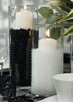 [ Black White Wedding Centerpieces Wedding Stuff Ideas ] - black and white wedding table decorations reference for black and white cool black and white wedding centerpieces happywedd com black and white wedding centerpieces wedding stuff ideas,i Black White Parties, Black And White Theme, Black Tie Party, Black Gold Party, Wedding Centerpieces, Wedding Table, Wedding Decorations, Centerpiece Ideas, Wedding Favors