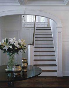 Light filled stairway