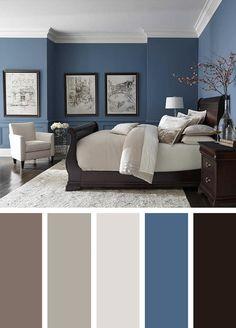 Ti piacciono le pareti color carta da zucchero? 75 Idee Su Pareti Blu Pareti Blu Arredamento Camere Da Letto Blu
