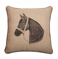 Thoroughbred Pillow