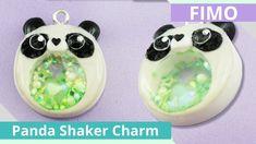 IFimo FreitagI Kawaii Panda Fimo Shaker Charm Tutorial I Anielas Fimo