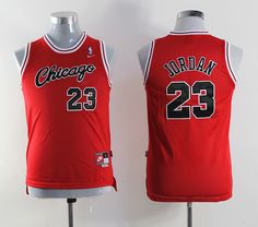 NBA Youth #23 red jersey