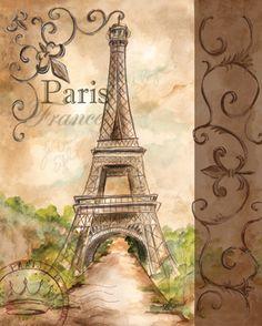 RB1775 <br> Landmark Paris <br> 20x16