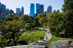 Central Park, New York City    Central Park, the first landscaped park constructed in the United States, was designed and built in the 1860s and '70s by Frederick Law Olmstead and Calvert Vaux. It was envisioned as a both a sanctuary from the business world and as a place for leisure. Of course, it has served admirably as both.