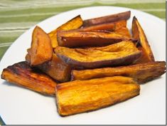 This recipe plus tons of thyme and a few dashes of garlic powder...best sweet potatos ever.