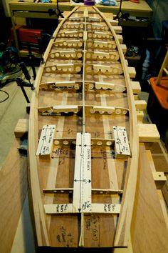 Wooden Surfboard Project, Winter 2010-11