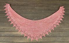 Handknit shawlette