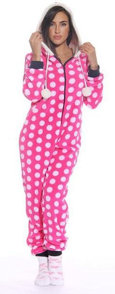 f15ed764ed Just Love Adult Onesie Womens Adult  Pajamas