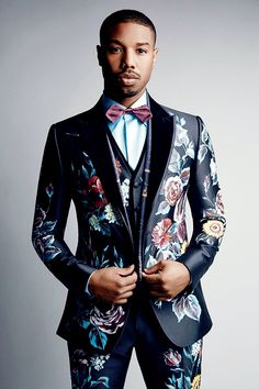 celebritiesofcolor: Michael B. Jordan photographed by  Patrick Demarchelier for VOGUE