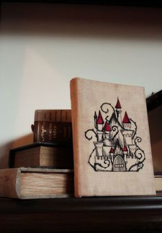 Tutorials | Urban Threads: Unique and Awesome Embroidery Designs. DIY: How to make your own Antique-look Embroidered Book Cover