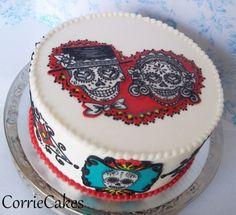 Dia de los Muertos - like this cake lots...
