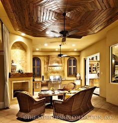 Gabriella Home Plan   Sater Design Collection   Luxury House Plans