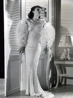 reviews_and_ramblings | Lee & Walter Plunkett - Lupe Velez in Strictly Dynamite (1934, RKO). Designer: Walter Plunkett.
