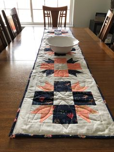 Your place to buy and sell all things handmade Quilted Table Toppers, Quilted Table Runners, Lilac Tree, Tablerunners, Free Studio, Dining Table, Quilts, Modern, Handmade