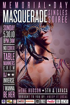 TMC-Masquerade-Soiree by keepitlocal, via Flickr