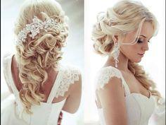 PEINADOS LINDOS DE NOVIA 2015   Wedding hairstyles - YouTube
