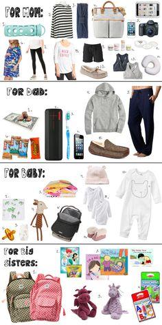 1000 Ideas About Hospital Bag Checklist On Pinterest