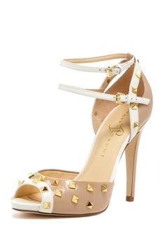 Ayla Peep Toe High Heel