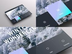 Weather Dashboard // Global Outlook UI/UX by Jonathan Quintin, via Behance