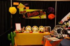 "2013 Women's Conference booth, ""From Siesta to Fiesta!"" From ""whining"" to ""dining"", this is ""NACHO"" boring scripture study. We will help you teach your kids and teenagers to ""Feast"" upon the words of Christ. We will give you ideas to start today and not ""tamale,"" and give you ideas to motivate your kids to have a desire to draw closer to our Savior, by developing a love of the scriptures."