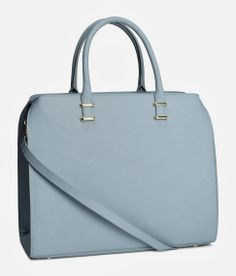 This powder blue handbag is cool, right?! Well, you won't believe how inexpensive it is  http://www.iamintothis.com/2014/02/our-top-fashion-picks-on-high-street.html