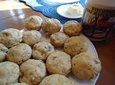 Pancake Sausage Muffins - Mix crumbled sausage with  your pancake mixture, pour into muffin pan, and bake for 15-20 minutes