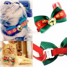 nice Adjustable Cat Dog Puppy Pet Bowtie Teddy Bow Tie Collar Necktie Gift Clothes